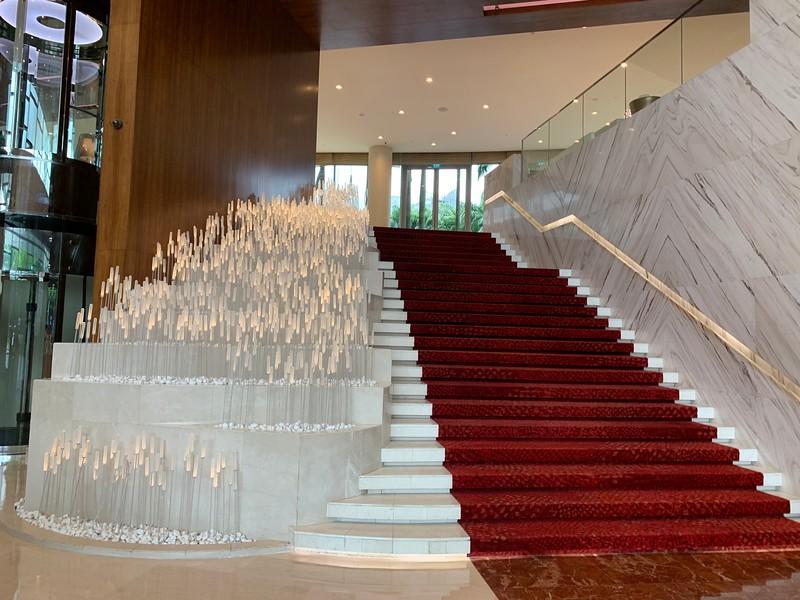 W Hotel Sentosa Cove Lobby Stunning Stair Case