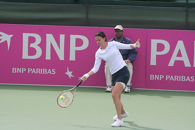 2008 - Fed Cup vs. Germany