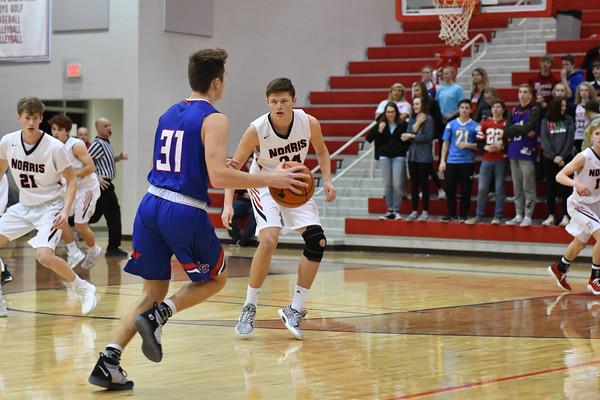 Varsity Boy Basketball vs Lincoln Christian