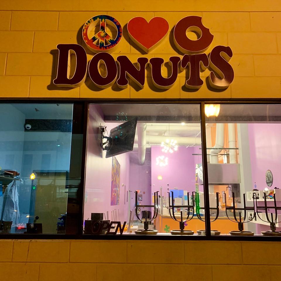peace love donuts huntington west virginia