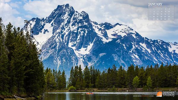 2020 National Parks Calendar