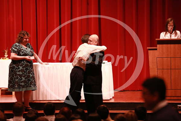 Junior to Senior Ring Ceremony at Antonian