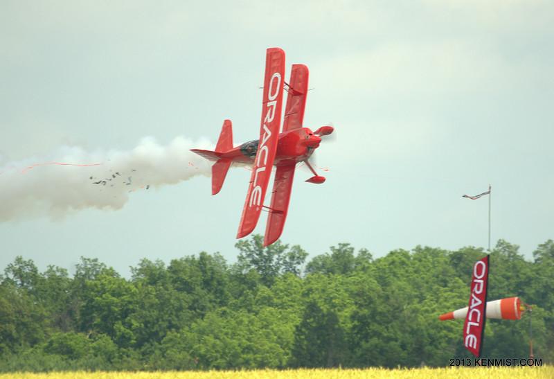 Sean D. Tucker at Great Lakes International Air Show