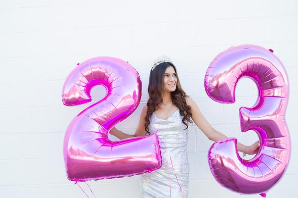 Nadya is 23