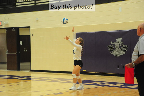 BBE volleyball v. KMS - 5A  10-31
