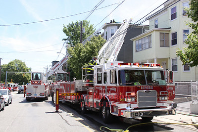 Revere, MA - Working Fire, 641 Beach Street, 5-28-10