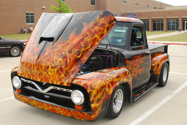 Timberview & Mansfield High Schools Car Show