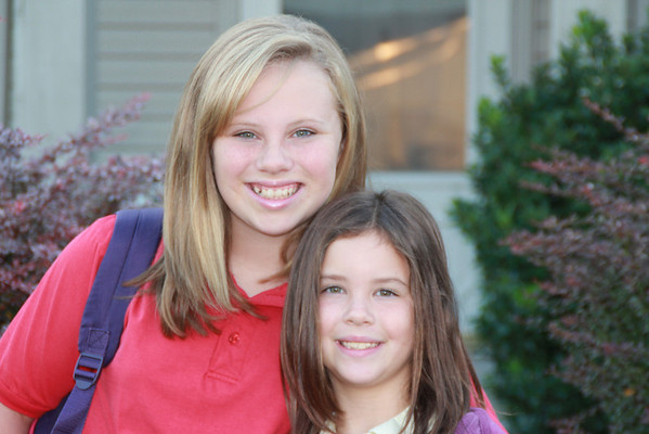 1st day of School  August 2012