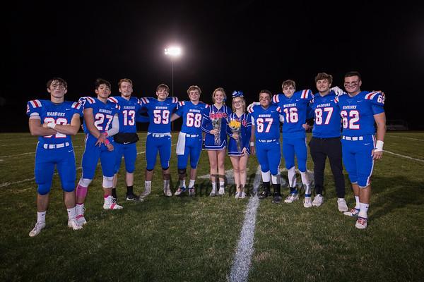 2019-10-25 WHS Football vs Keene Senior Night