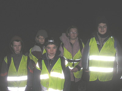 Scout Night Hike 2007