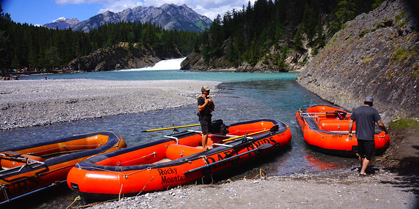 Rafting the Bow River 2014