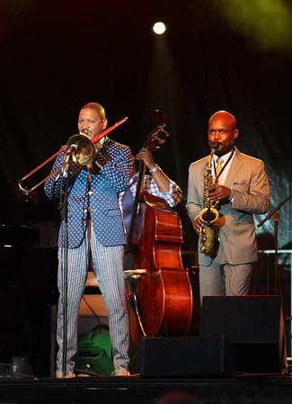 Delfeayo Marsalis Quintet at the Jacksonville Jazz Festival 2019