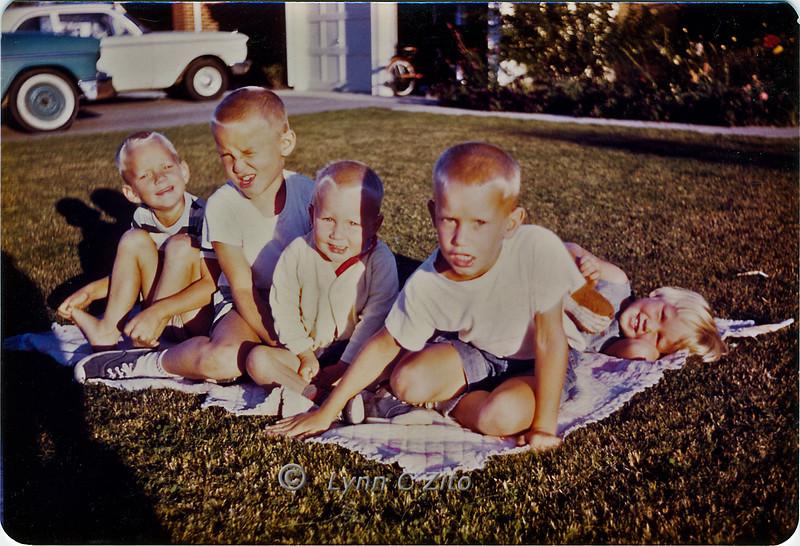 DANA,MARK,SCOTT,CRAIG & LYNN 1961-1962