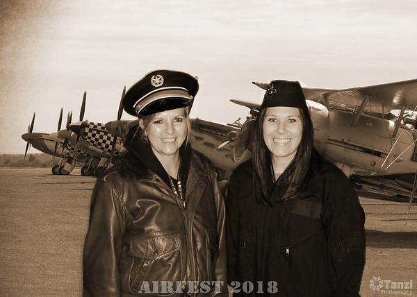 Great Bend Airfest - Old Time Photographs - 2018
