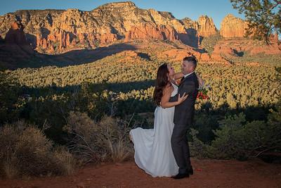 Libby  & Norman's Sedona Wedding