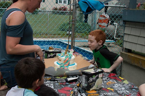 Connor's 8th Birthday Party