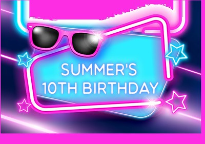 Summer's 10th Birthday Party!