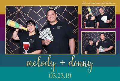 Melody & Donny's Wedding