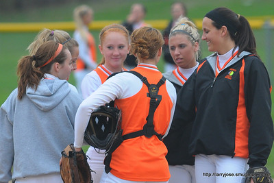 Jonesville vs Coldwater Softball