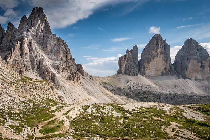 Monte Paterno a Tre Cime