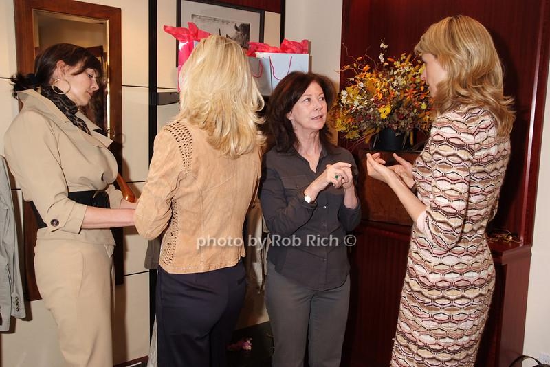 Frances Schultz, Krista Krieger, Patricia Harrington, Jenny Kennedy photo by Rob Rich © 2008 robwayne1@aol.com 516-676-3939