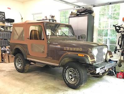 1981 CJ7 Restoration - 2018.05.25