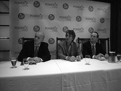 POWERUP Canada launch press conference