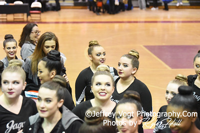 2/2/2019 Northwest HS at MCPS County Poms Championship Blair HS Division 2,  Photos by Jeffrey Vogt Photography with Kyle Hall