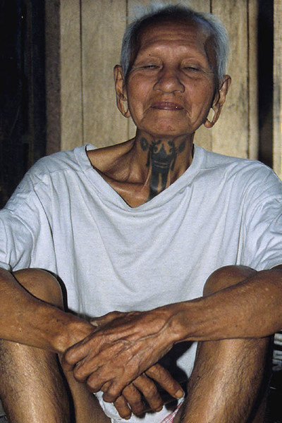 Belaise Longhouse, Borneo 1989