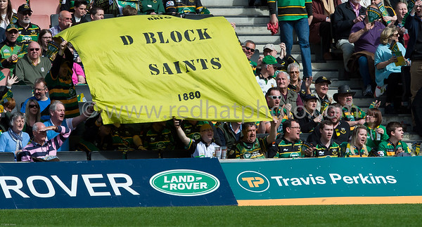Northampton Saints vs Saracens, Aviva Premiership, stadium:MK, 25 April 2015