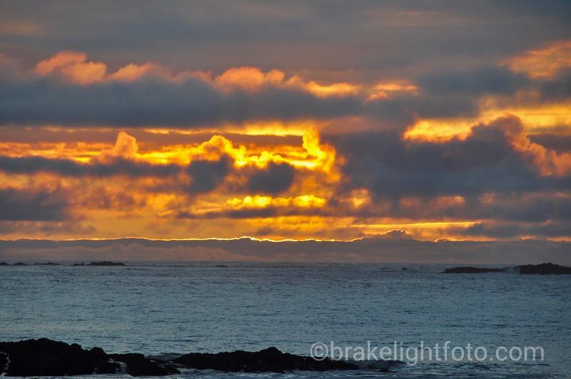 Sunset at Sialun Bay