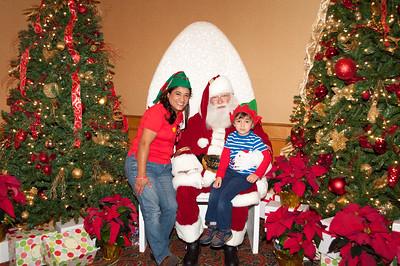 2017 Holiday Party Santa Photos