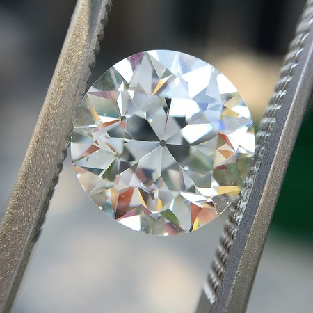 2.05ct Old European Cut Diamond GIA K VS2