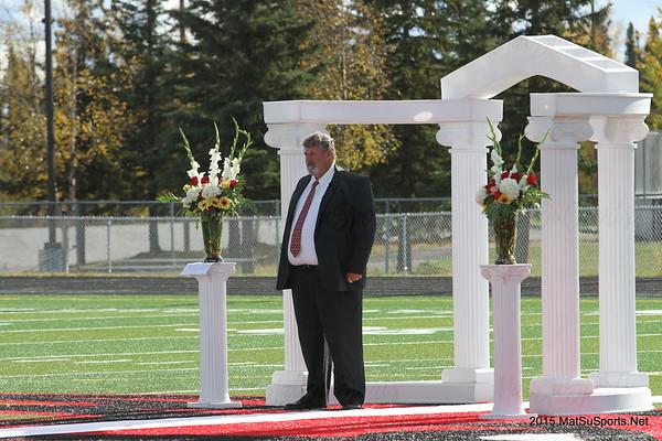 Coach Barrett's Football Wedding 9-19-2015