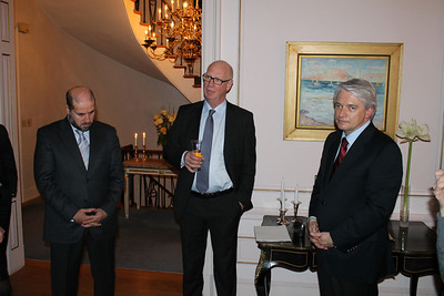 Reception and Dinner at Norwegian Embassy