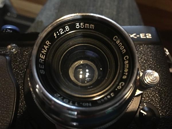Canon Serenar 35mm 2.8