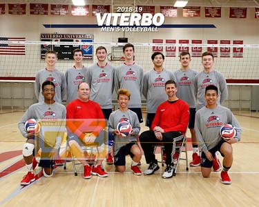 Viterbo men's volleyball VB19