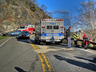 4-3-12 MVA With Injuries, Bear Mt. Bridge Road