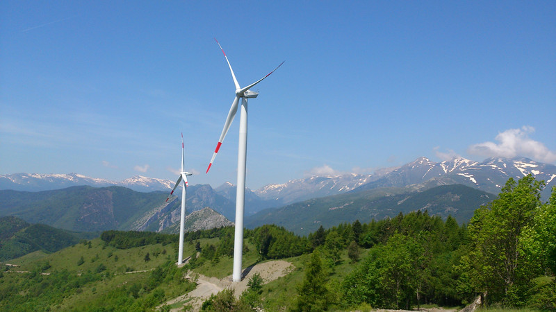 New wind turbines - I think they look magnificent!