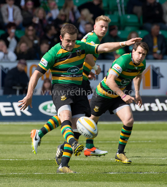 Northampton Saints vs Bath Rugby, Aviva Premiership, Franklin's Gardens, 30 April 2016