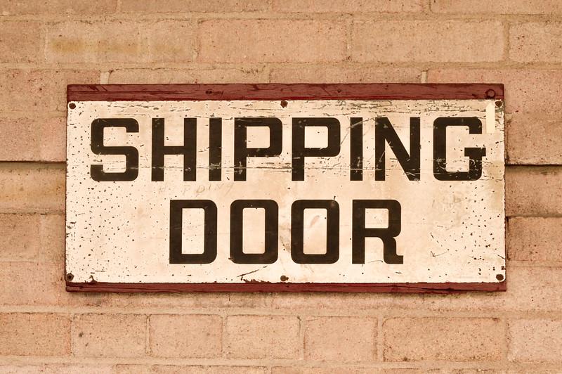 Shipping Door