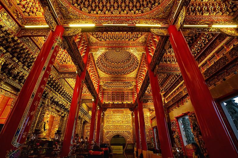 Taoist Temple, Jiufen, Taiwan