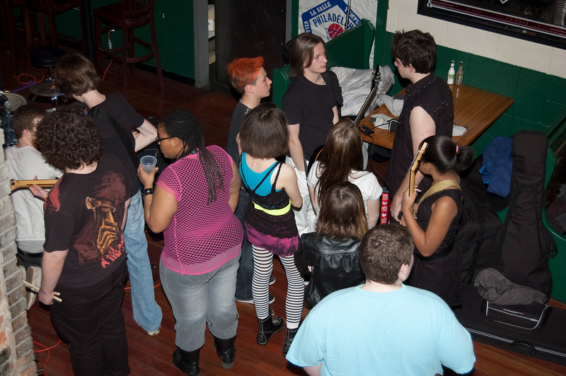 School Of Rock - Classic Punk at JD McGillicuddy's  - April 8, 2011
