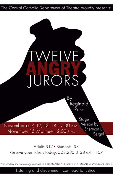 Fall 2015 - Twelve Angry Jurors