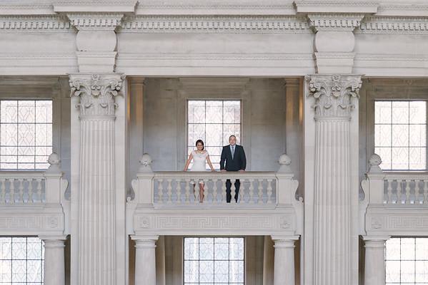 Alex & Maria | City Hall | San Francisco Wedding Photography