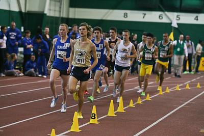 Men's 3000 Meters - 2013 MAC Indoor T & F Champ Day 2