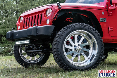 Will-Edmund-Red-2008-Jeep-Wrangler-22x12-Burnout-SS5-@projectratedfivestar