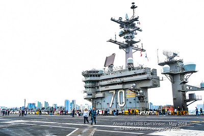 USS CARL VINSON - Family Day ~ May 19th 2018