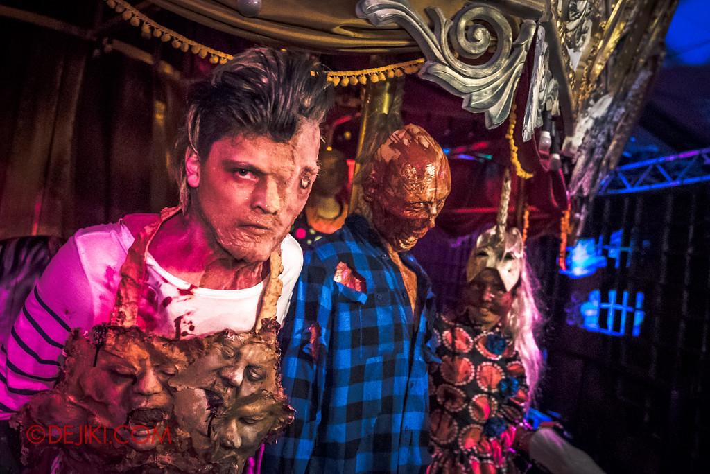Halloween Horror Nights 6 - Bodies of Work / Damien Shipman on the Masterpiece Carousel