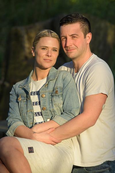 Gary and Caroline